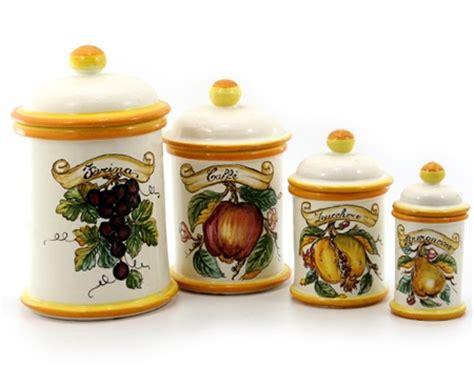 italian canisters kitchen italian ceramic canisters italian ceramics deruta