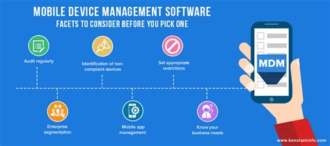 mobile device software mobile device management software facets to consider