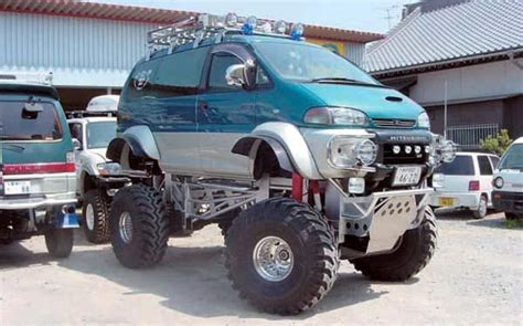 Mitsubishi Delica Modification by 1000 Images About Delica Modification Ideas On