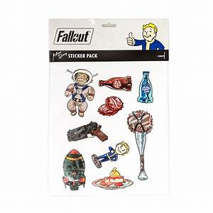 The Bethesda Store - Fallout Momo Deary Sticker Pack