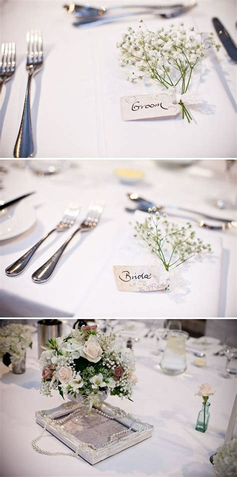 french inspired farm wedding wedding place settings