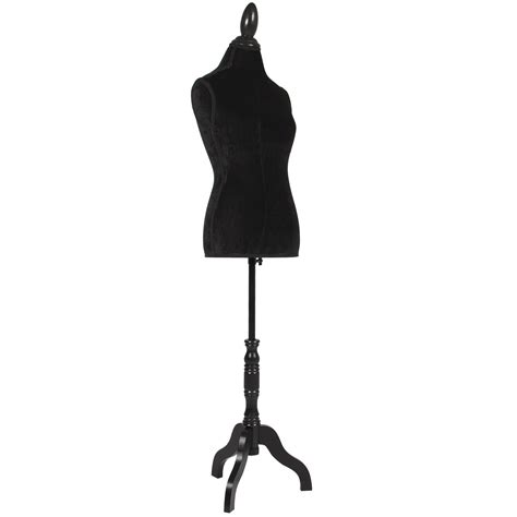 female form mannequin black female mannequin torso dress form display w black
