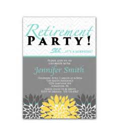 Surprise Retirement Party Invitation Templates