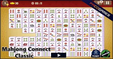mahjong connect classic play  game    pacogames