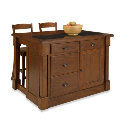 orleans marble kitchen island buy home styles the orleans kitchen island with marble top 3810