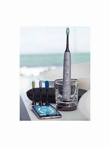 Philips Hx9924  44 Diamondclean Smart Sonic Electric Toothbrush With App  Silver At John Lewis