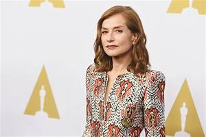 Isabelle Huppert in Armani Privé at the 2017 Academy ...