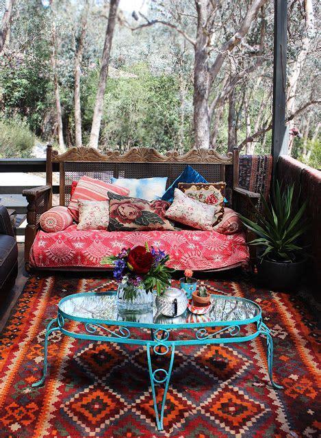 boho patio space sweet william boho patio bohemian