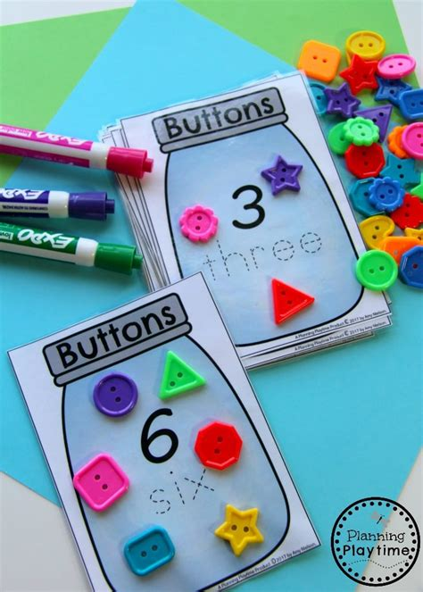number worksheets planning playtime 210 | Fun Counting Activities for Kindergarten or Preschool.