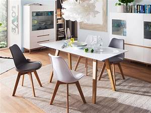 Esstisch Eiche Weiß Gekalkt : cava esstisch matt weiss eiche 180 x 90 cm ~ Bigdaddyawards.com Haus und Dekorationen