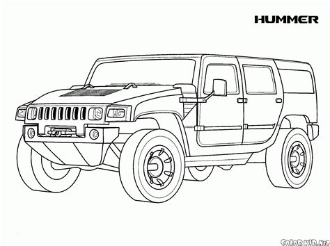 coloring page buick usa