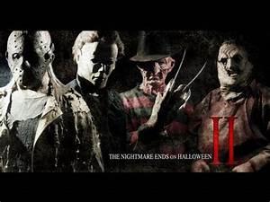 Freddy Krueger Vs Jason Voorhees Vs Michael Myers Vs ...