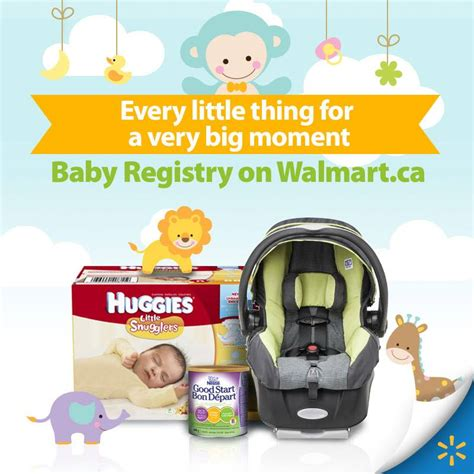 walmart baby shower registry introducing walmart canada s newest baby registry