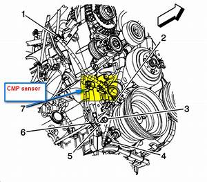 Chevy Aveo Camshaft Position Sensor Location  Chevy  Wiring Diagram Images