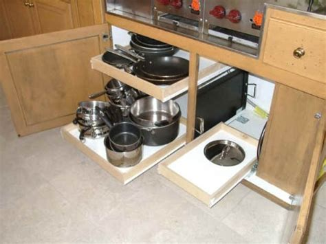 slide out shelves for kitchen cabinets 67 cool pull out kitchen drawers and shelves shelterness 9316