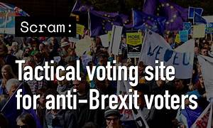 Hate Brexit? This site helps Remainers to vote tactically ...