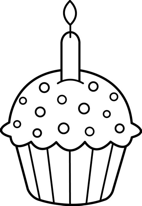 """Icolor """"cupcakes""""  Roundtop Cupcake With Candle (3127"""