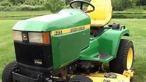 John Deere 425 And Craftsman Gt5000 Walkaround