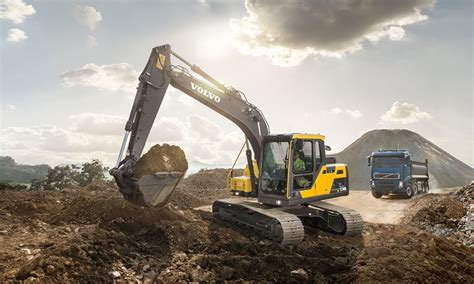 volvo introduces  excavator  middle east  africa