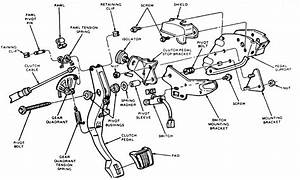 1988 Ford Mustang Clutch Adjustment