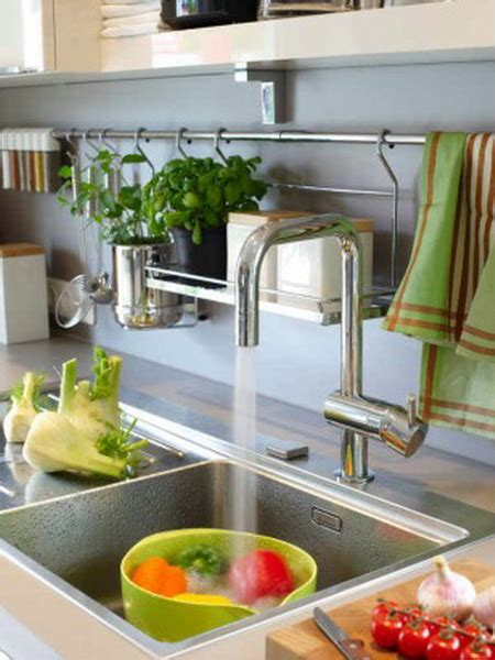 kitchen rail storage 31 practical kitchen rail storage ideas shelterness 2478