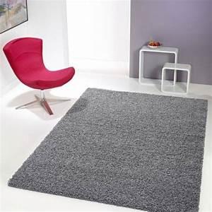 Tapis 160x230 Pas Cher : tapis shaggy gris ~ Dailycaller-alerts.com Idées de Décoration