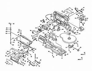 Scroll Saw Diagram  U0026 Parts List For Model 1680 Dremel