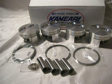 Datsun Performance Parts by Datsun 1200 High Performance A15 79mm Forged Piston Kit