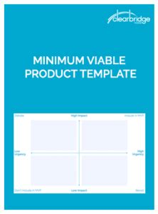 Minimum Viable Product Template