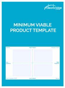 minimum viable product template download With minimum viable product template