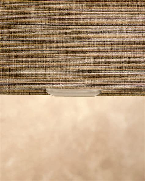 Cordless Woven Texture Roman Shade  San Francisco By