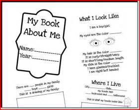 All About Me Preschool Books