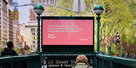 humorous delivery service ads postmates  ads