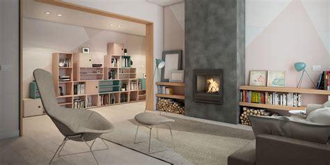 arredare un salotto moderno come arredare un salotto moderno con camino fai da te