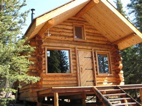 folks living  simple life  tiny cabin  alaska