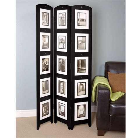 Az Home And Gifts 54 Ft Black 3panel Room Divider