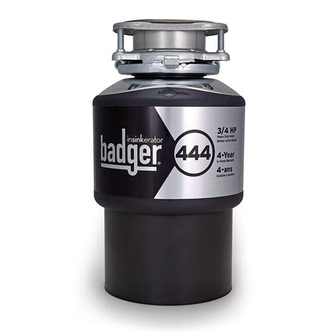 Badger Sink Disposal Reset by Insinkerator Badger 444 Garbage Disposal Lowe S Canada