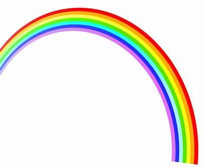 Rainbow Clipart Rainbows Plain Cartoon Children Colors