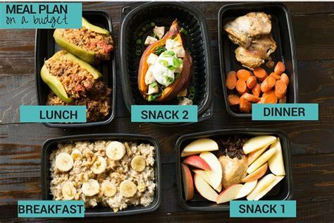 foods meal prep challenge