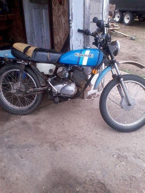 Kawasaki Km 100 by 1980 Kawasaki Km100 Moto Zombdrive