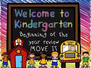 kindergarten move    school