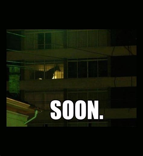 Soon Horse Meme - funny memes soon meme horse in a dark window