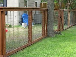 cheap dog fence ideas bull wire fence austin texas With cheap dog fence wire