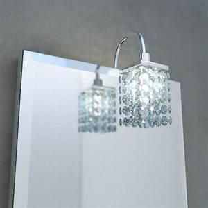 Led Kristall Leuchte : n rnberg spiegel mit kristall leuchte led ~ Markanthonyermac.com Haus und Dekorationen