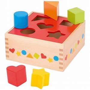 Spiel Mit Holzklötzen : goki steckspiel aus holz 58580 mit 5 holzkl tzen ~ Orissabook.com Haus und Dekorationen