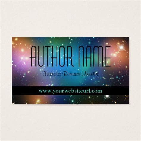 sci fi author business card zazzlecom sci fi authors
