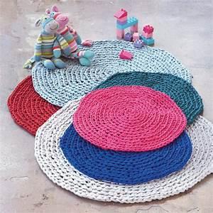 realiser un tapis au crochet marie claire With tapis chambre bébé avec panier fleur mariage