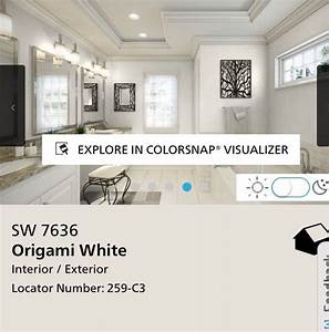 Origami white sherwin williams new house master for Kitchen colors with white cabinets with origamie en papier