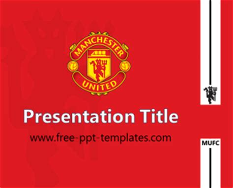 Of Manchester Powerpoint Template mufc ppt template free powerpoint templates