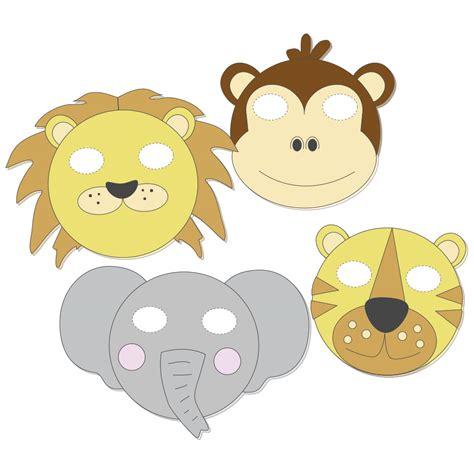 mascaras de animales de la jungla